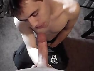 twink bukkake sucking gay